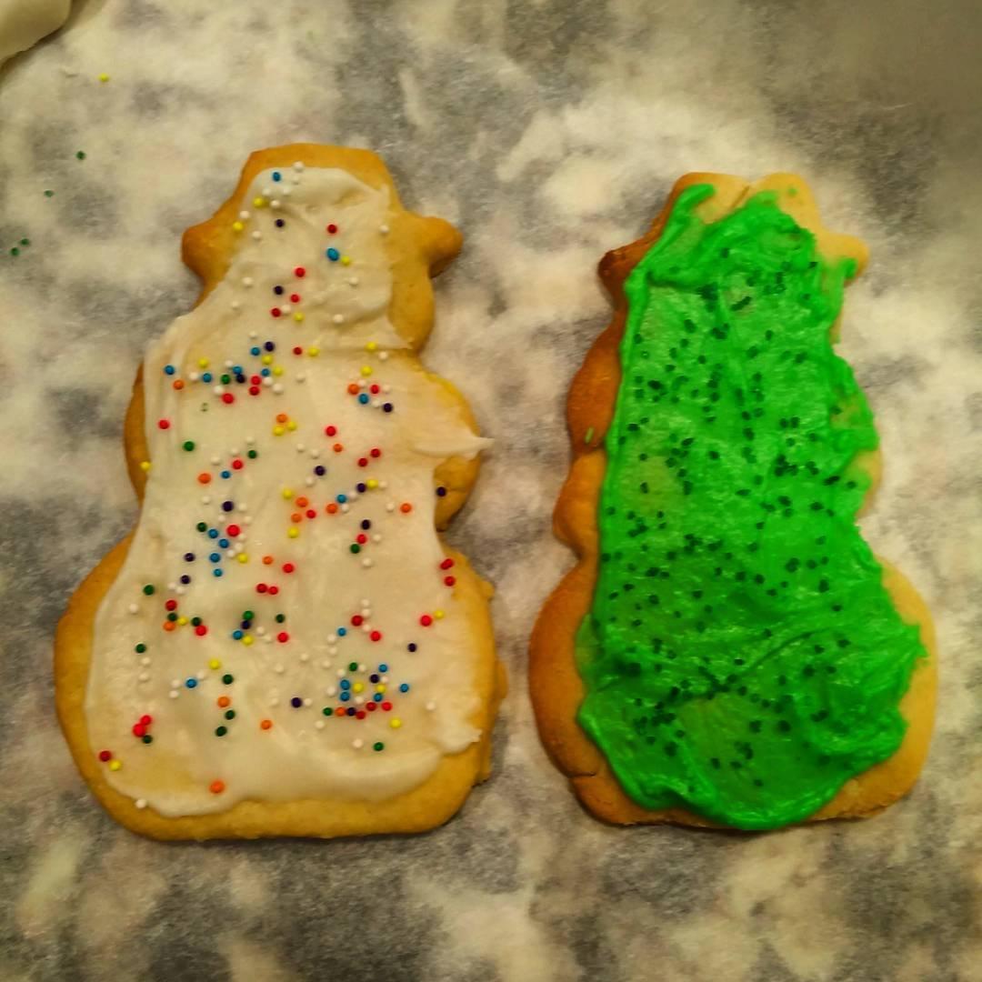 Cookies: Snowman, Boogeyman
