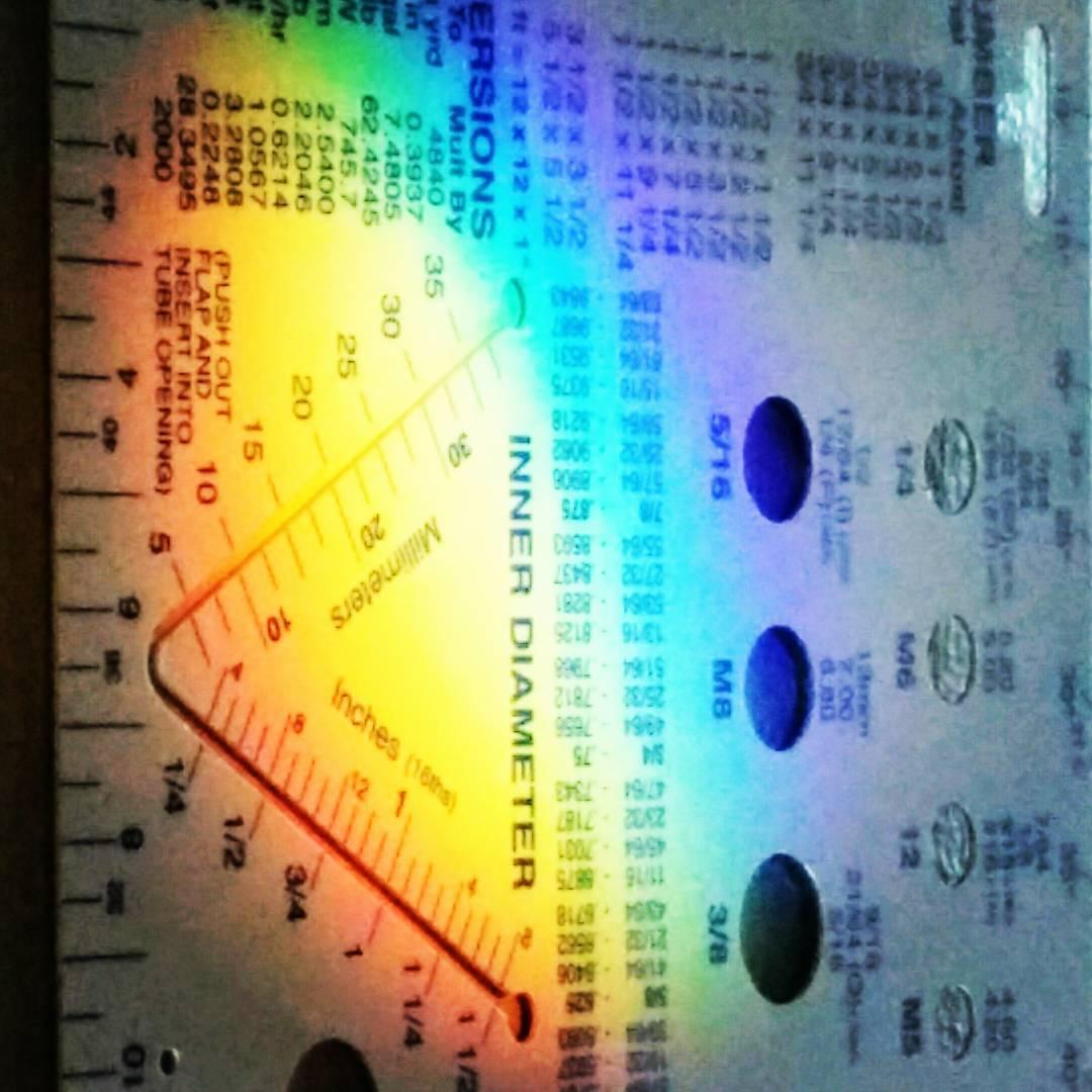 Your Friday Rainbow Ruler