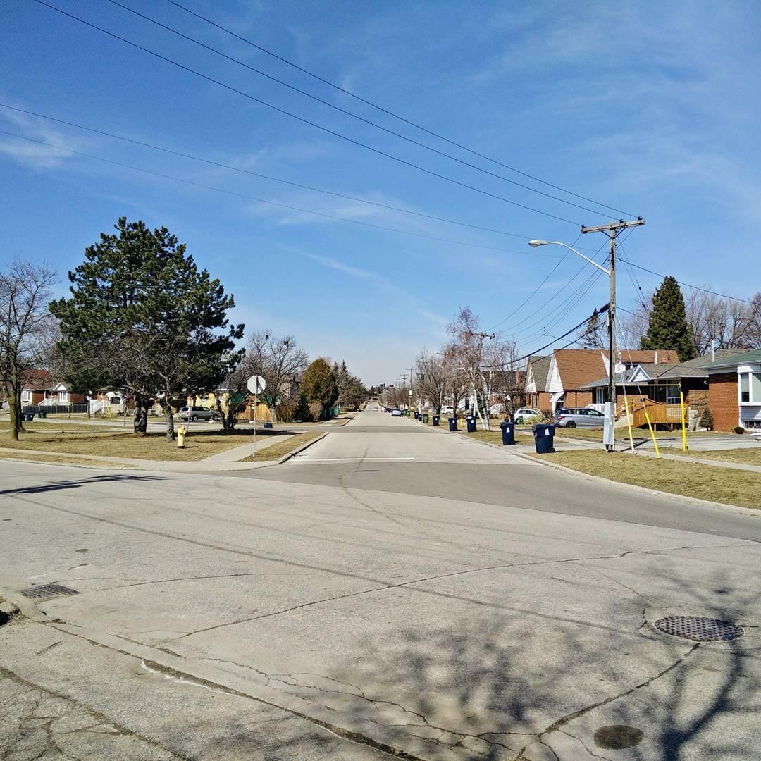 Ah, the suburbs …