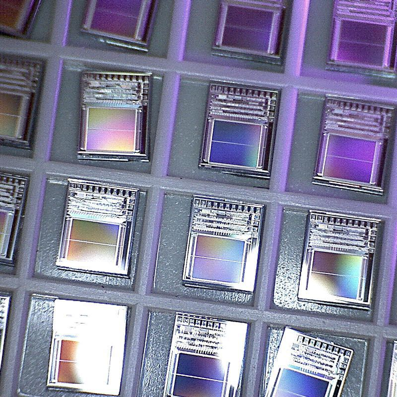 More rainbows from silicon chips