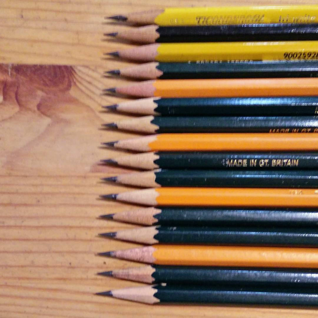 i like pencils