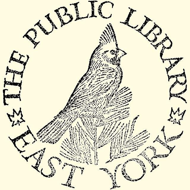 pre-amalgamation bookplate, East York Public Library