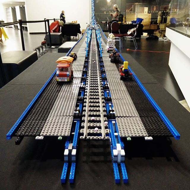 Now *that's* a Lego bridge …