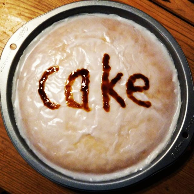 Cake for Breakfast Day …