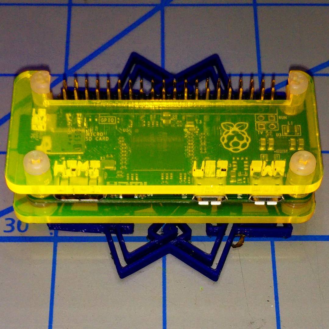 Raspberrypi Page 2 We Saw A Chicken Raspberry Pi Gpio Ruby Wiringpi So The Coocoo Zero Case Does Work With Acrylic
