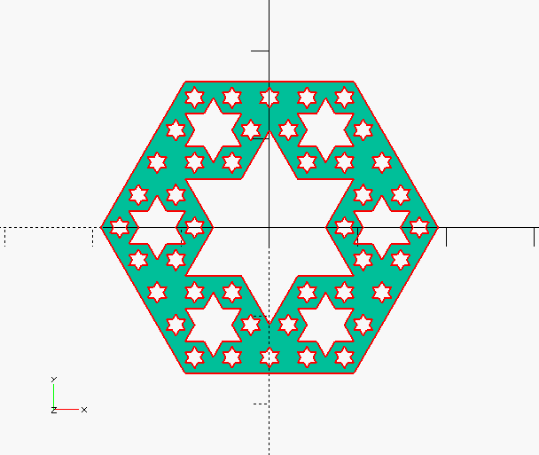 some OpenSCAD 2D SVG things for Josh … – We Saw a Chicken …