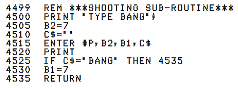 TYPE BANG: First Person Shooter, 1975 style – We Saw a Chicken …