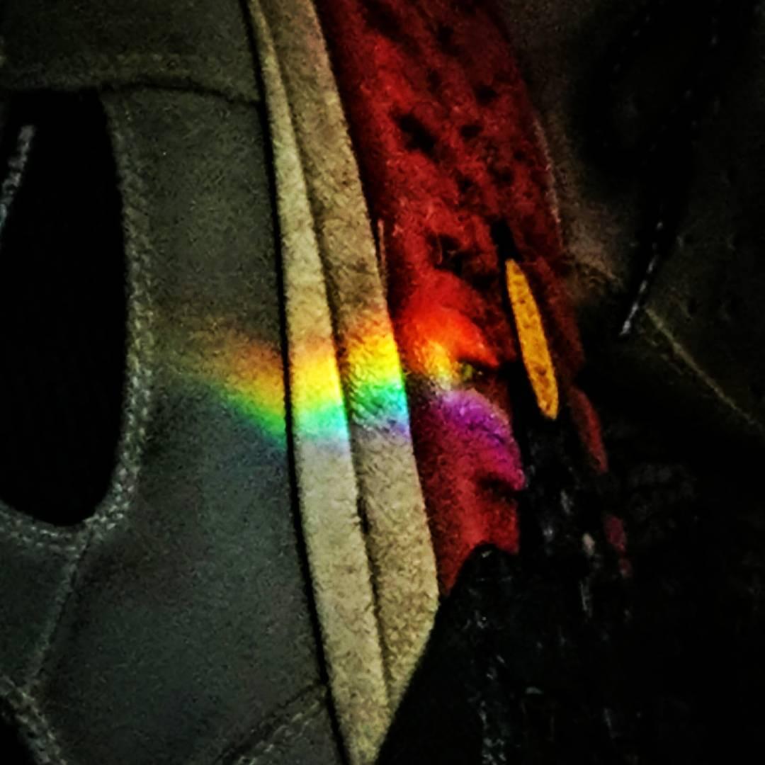 old shoe new rainbow