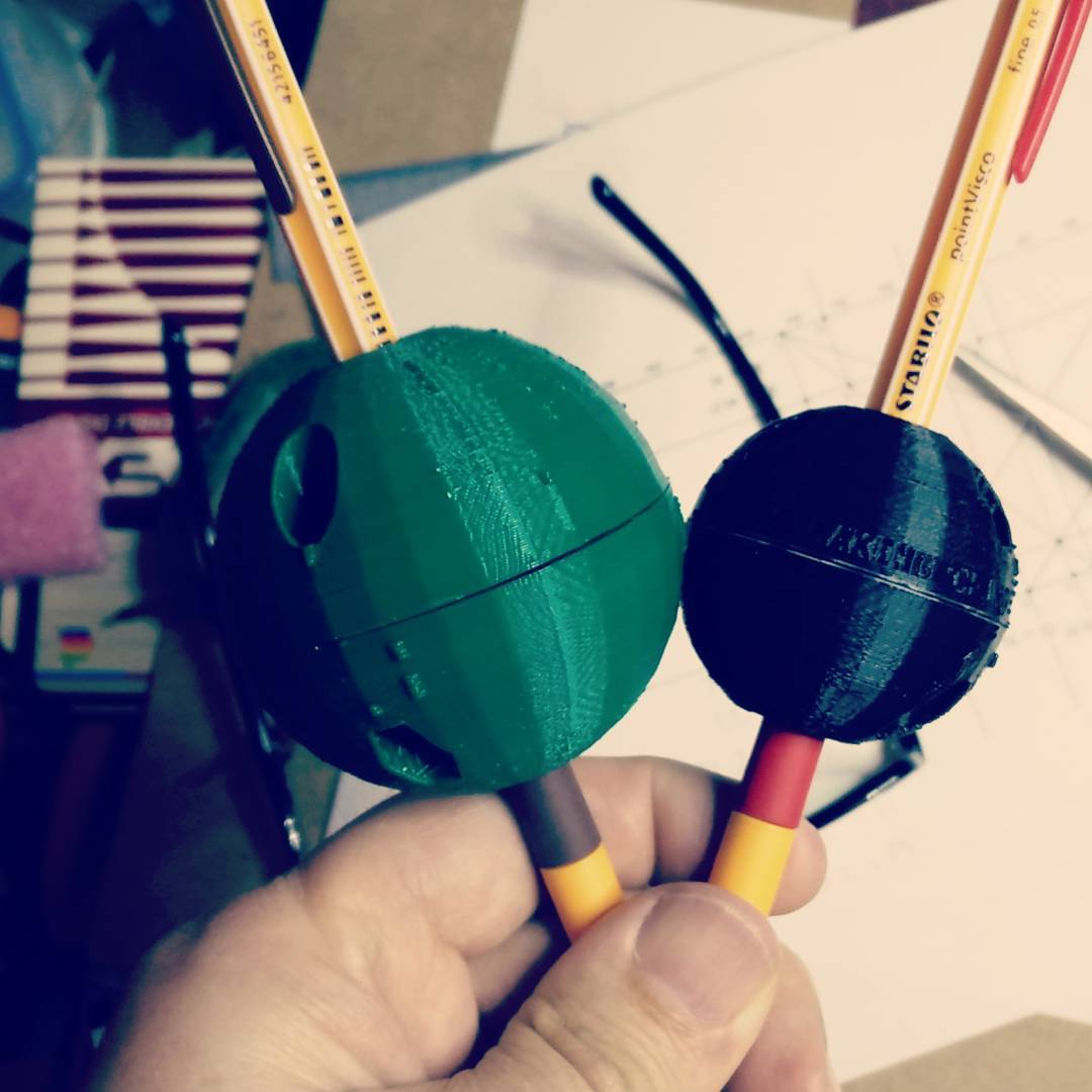 Parametric pen-grips – OpenSCAD ftw