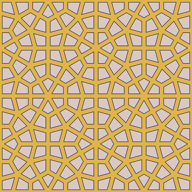 Constructible cushion pattern