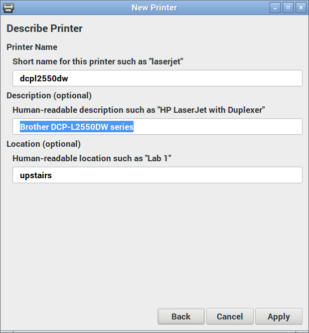printer – We Saw a Chicken …
