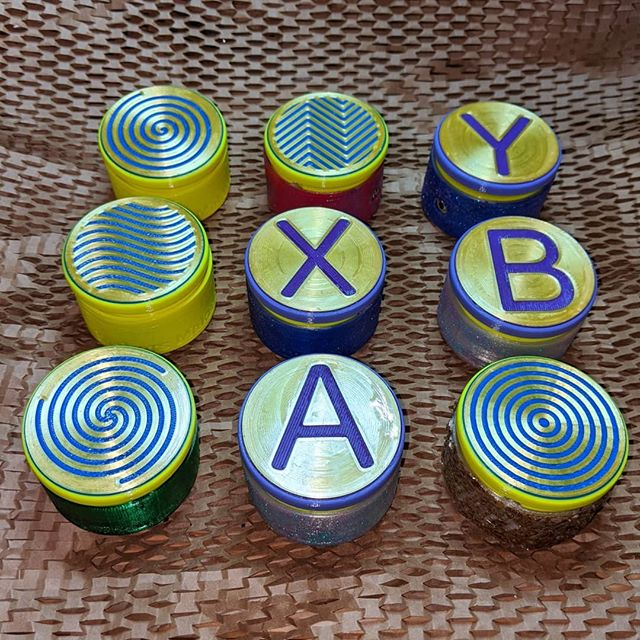 Accessible Gaming buttons are done!