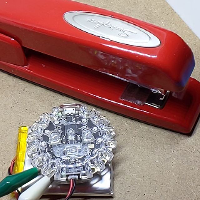 SimStapler© Simulator – in real life! Thanks to @leeborg_ for the inspiration!